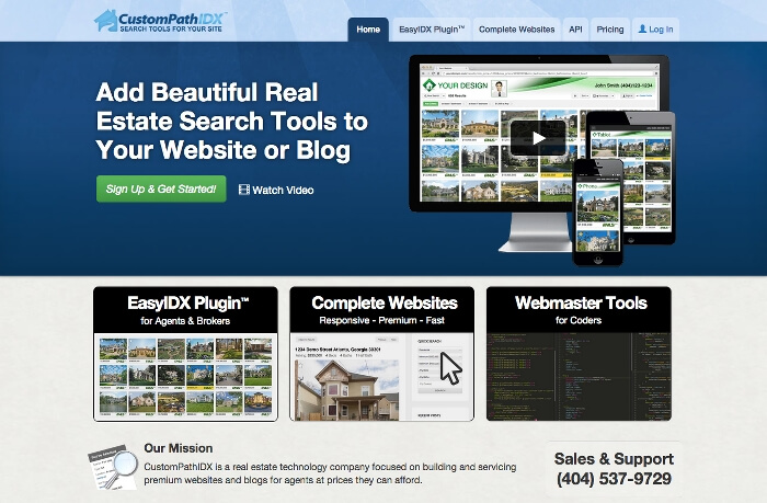 CustomPathIDX Website
